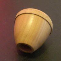 poignées rondes en bois pour babyfoot