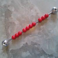 Boulier rouge