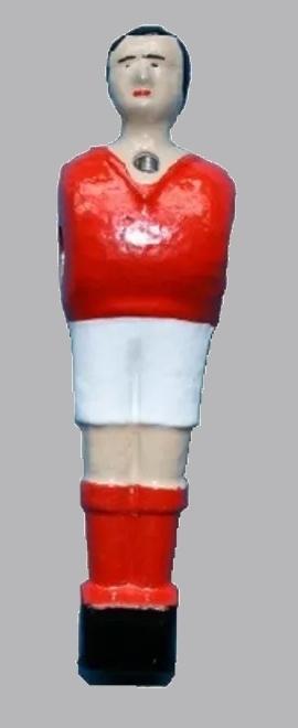 Joueur baby foot Petiot rouge