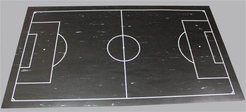 tapis-gerflex-noir-tracage-foot