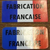 Sticker fabrication francaise