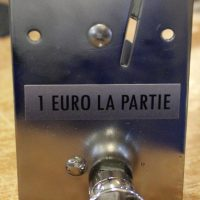 Sticker monnayeur