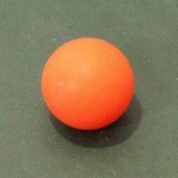 balle-baby-foot-plastique-orange