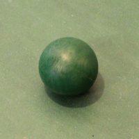 balle-baby-foot-plastique-verte