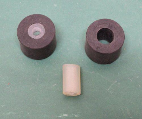 amortisseur caoutchouc 30 x 9mm
