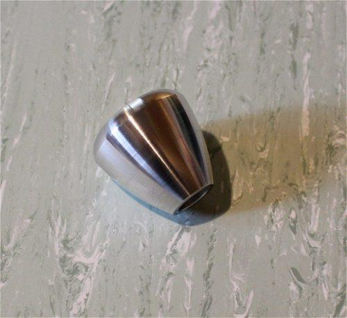poignée ronde aluminium baby foot